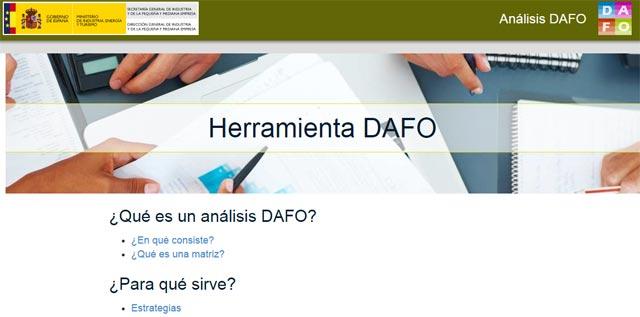 herramienta análisis dafo